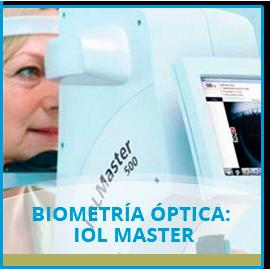 Biometría Óptica: IOL Master