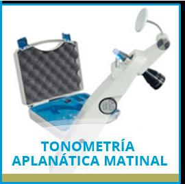 Tonometría Aplanática Matinal