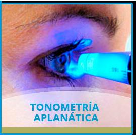 Tonometría Aplanática